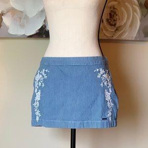Abercrombie and Fitch Denim Mini Skirt